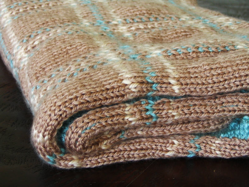 Free Knitted Blanket Patterns : PATTERNS FOR KNITTING BLANKETS   Free Patterns